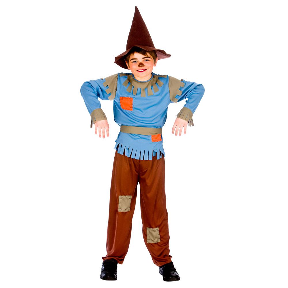 Child SCARECROW BOY Wizard of OZ Fancy Dress Outfit Book Week ...