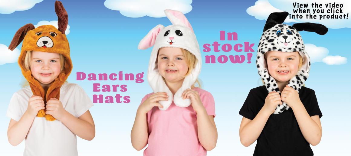 Dancing Ears Hats